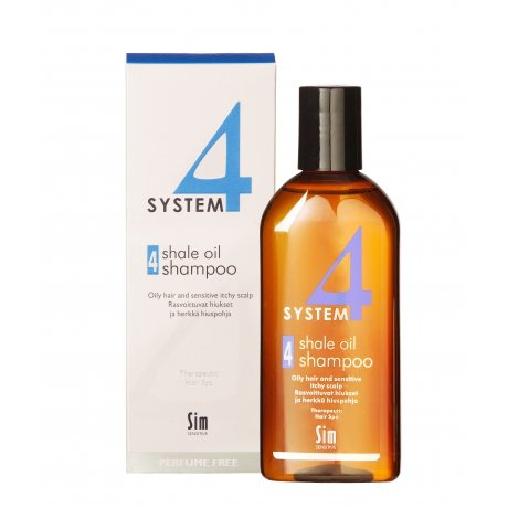 Sim Sensitive System 4 Shale Oil Shampoo 4   215ml.