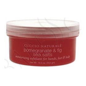Cuccio Naturalé  Sea Salt Grovkornig Pomegranate & Fig