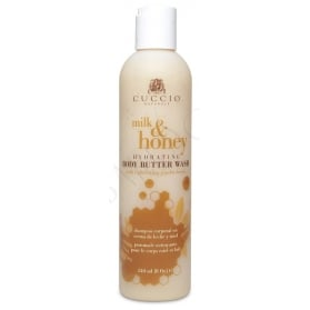 Cuccio Naturalé  Body Butter Wash Milk & Honey