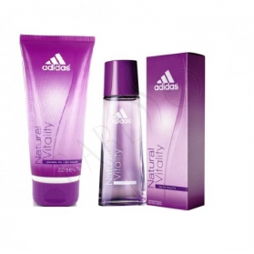 Adidas Natural Vitality  EDT 30 ml + Shower Gel 75ml