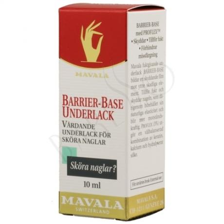 Mavala Barrier-Base Underlack Vårdande Underlack för Sköra Naglar 10ml