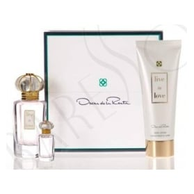 Oscar de la Renta Live in Love 50ml + Body Lotion 100ml + mini 4ml