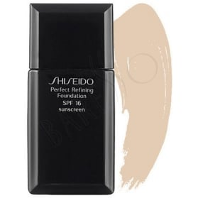 Shiseido Perfect Refining Foundation SPF16 100 veryl Light Ivory