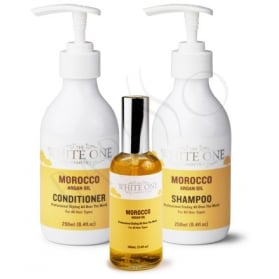 The White One Morocco Argan Oil Kit