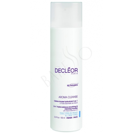 Decleor Aroma Cleanse 3-in-1 Hydra-Radiance Smoothing & Cleansing Mousse 100ml