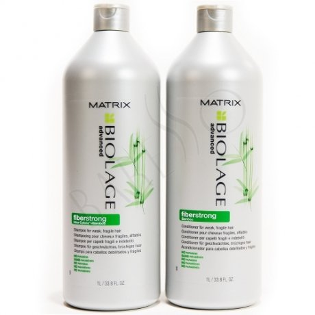 Matrix Biolage Fiberstrong Shampoo 1000ml + Conditioner 1000ml