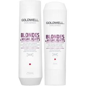 Goldwell Dualsenses Blondes & Highlights Shampoo + Conditioner