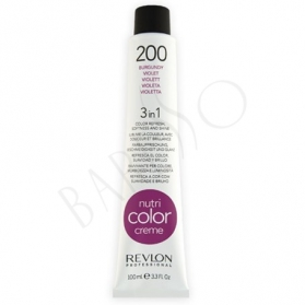 Revlon Professional Nutri Color Creme 200 Burgundy Tube 100ml