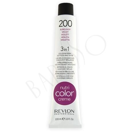 Revlon Professional Nutri Color Creme 200 Burgundy Tube 100ml