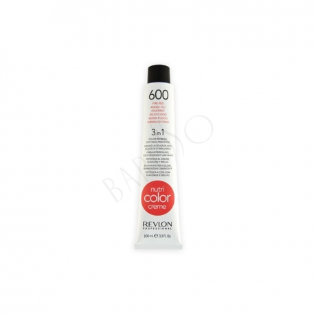 Revlon Professional Nutri Color Creme 600 Fire Red Tube 100ml