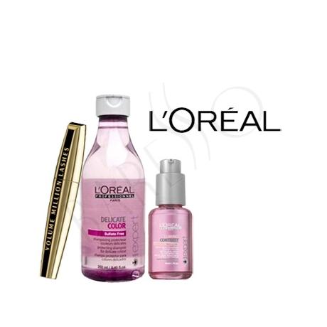L'Oréal Professionnel Serie Expert schampo + Serum + Mascara