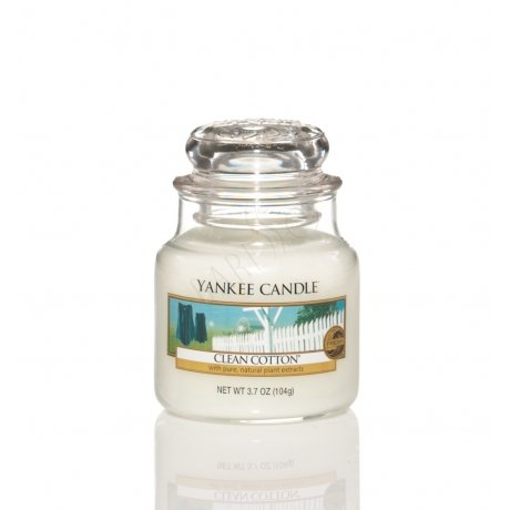 Yankee Candle Clean Cotton SMALL