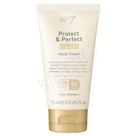 Boots No7 Protect & Perfect Intense Overnight Revitalising Hand Treatment 75ml
