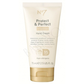 Boots No7 Protect & Perfect Intense Day Hand Cream 75ml