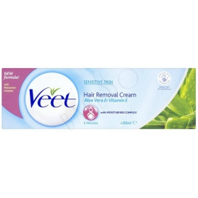 Veet 5 Minutes Hair Removal Cream Sensitive Skin 200ml