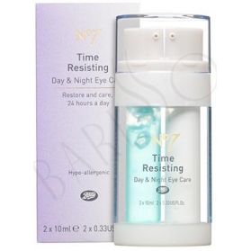 Boots N°7 Time Resisting Day and Night Eye Care 2x10ml