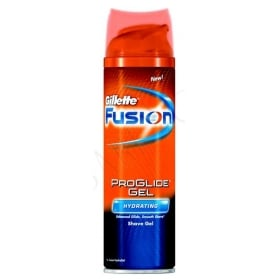 Gillette Fusion ProGlide Hydrating Gel 200ml