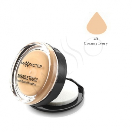 Max Factor Miracle Touch Liquid Illusion Foundation Creamy Ivory 40