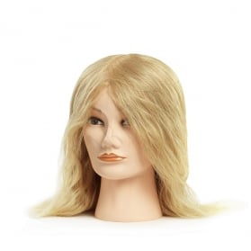 Mannequin female blond medium (35-40 cm)