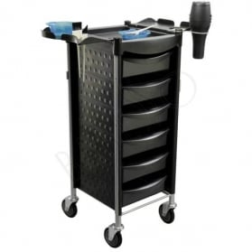 Salon trolley. black