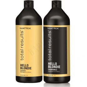 Matrix Total Results Hello Blondie Duo Paket 1000ml
