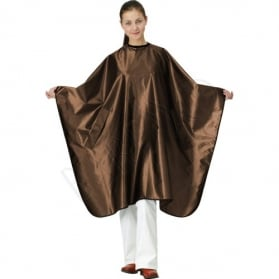 Satin cape. bronze