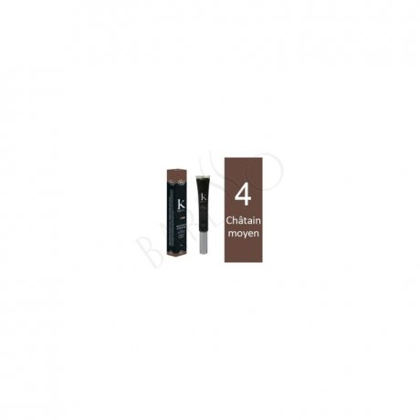 K Pour Karité Organic Hair Mascara - 4 Medium Brown