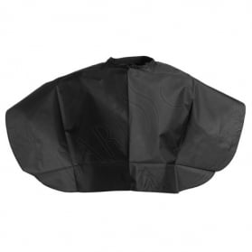 Shoulder cape nylon. black
