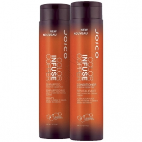 Joico Color Infuse Copper Shampoo 300ml + Conditioner 300ml