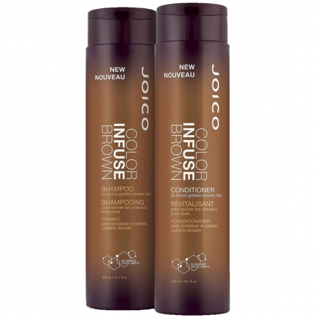 Joico Color Infuse Brown Shampoo 300ml + Conditioner 300ml