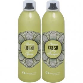 Grazette Crush Illusion Dry Shampoo 300ml + Hair Spray 300ml