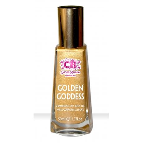 Cocoa Brown Golden Goddess Shimmering Dry Body Oil