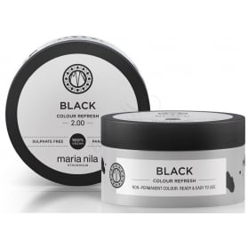 Maria Nila Colour Refresh 2.00 Black 100ml