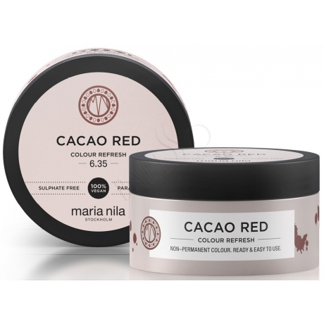 Maria Nila Colour Refresh 6.35 Cacao Red 100ml