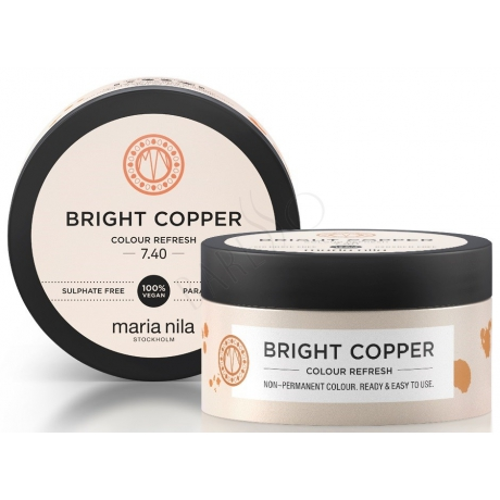 Maria Nila Colour Refresh 7.40 Bright Copper 100ml