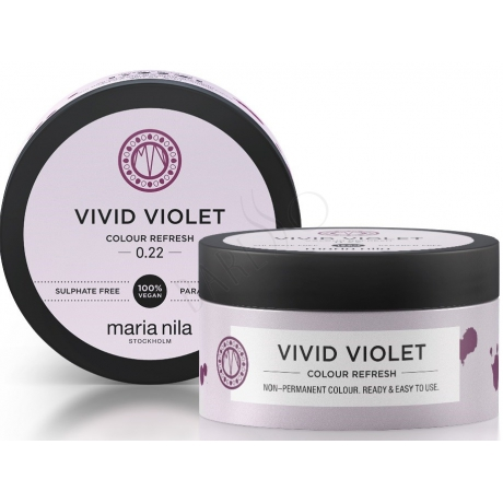 Maria Nila Colour Refresh 0.22 Vivid Violet 100ml