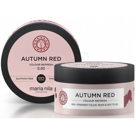Maria Nila Colour Refresh 6.60 Autumn Red 100ml