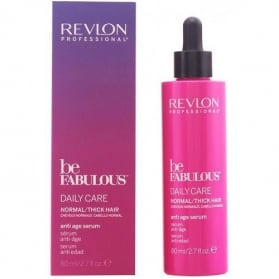 Revlon Be Fabulous Normal/Thick Hair Anti Aging Serum 80ml