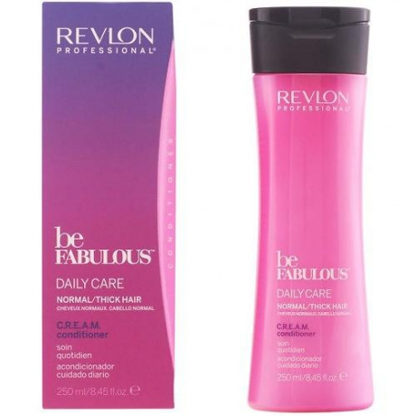 Revlon Be Fabulous Normal/Thick Hair Cream Conditioner 250ml