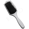 Paddle brush. silver mini