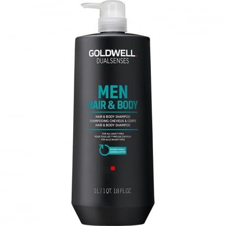 Goldwell Dualsenses For Men Hair & Body Shampoo 1500ml