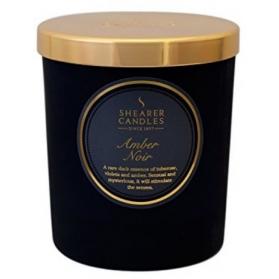 Shearer Candles In Jar Amber Noir 35h