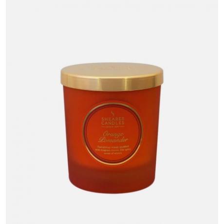 Shearer Candles Orange Pomander Jar Candle