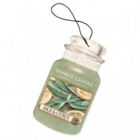 Yankee Candle Car Jar Sage & Citrus