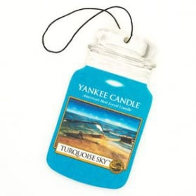 Yankee Candle Car Jar Turquoise Sky