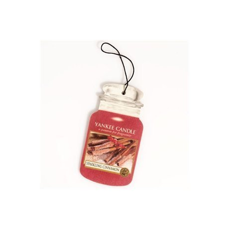 Yankee Candle Car Jar Sparkling Cinnamon