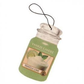 Yankee Candle Car Jar Vanilla Lime
