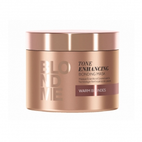 Schwarzkopf Blond Me Tone Enhancing Bonding Mask Warm Blondes 200ml