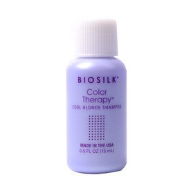 BioSilk Color Therapy Cool Blonde Shampoo 15ml