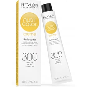 Revlon Professional Nutri Color Creme 300 Yellow Tube 100ml